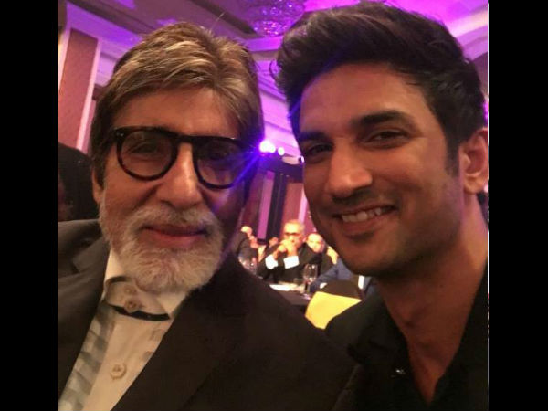 Sushant With Big B