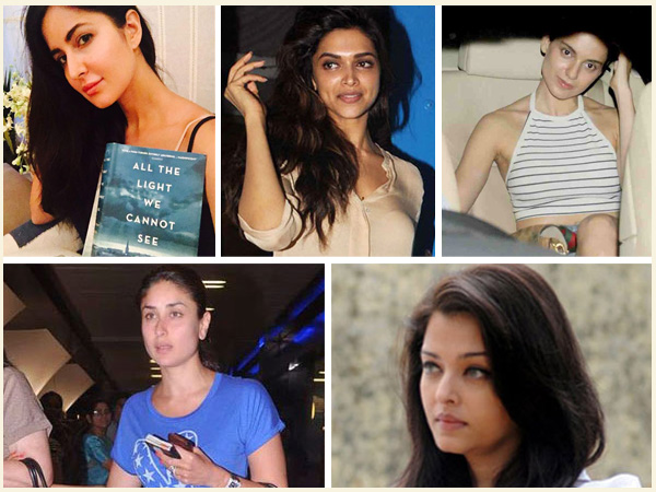 Bollywood Actresses Without Make-Up