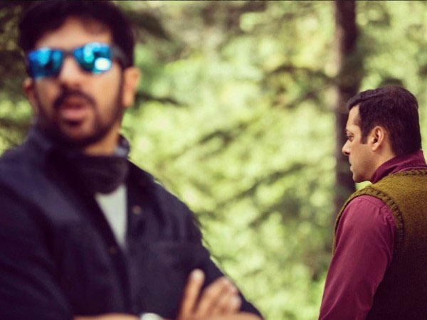 Kabir Khan Posts Salman's Picture