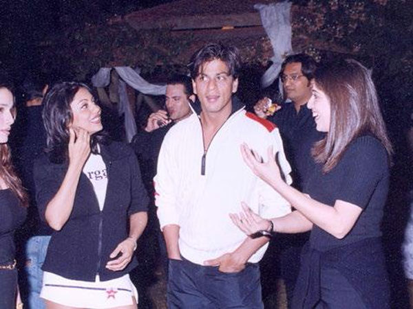 SRK On Gauri