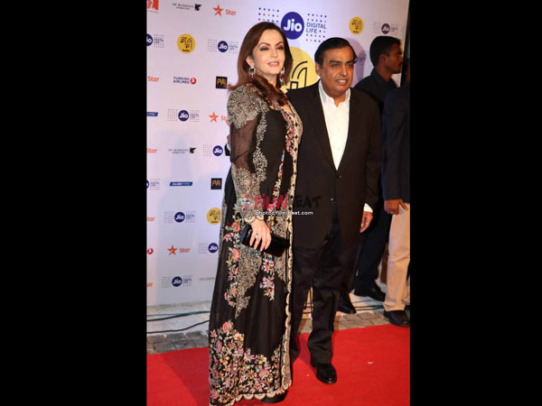 Mr & Mrs Ambani