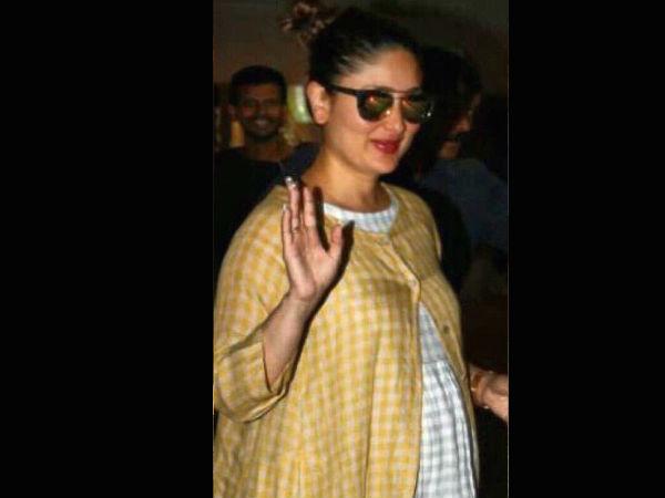 0553ebd42e Kareena Kapoor Seven Months Pregnant, Kareena Kapoor Spotted At ...