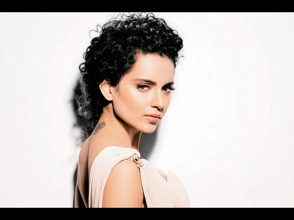 Really! Kangana Ranaut Changed Clothes Behind Rocks For Rangoon