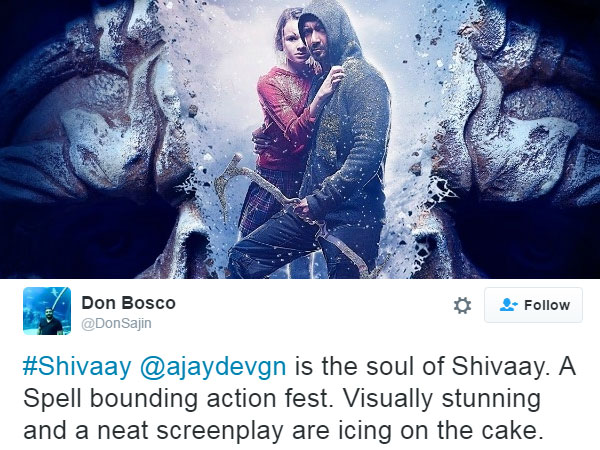 Ajay Is The Soul Of Shivaay