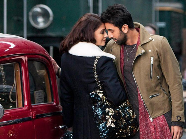Ranbir Kapoor And Aishwarya Rai Bachchan Get Flirty In This New Still From 'Ae Dil Hai Mushkil'