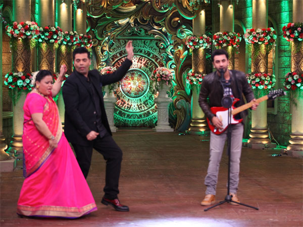 Comedy Nights Bachao Taaza: Karan Johar Dances On Ranbir Kapoor's Tune (PICS)