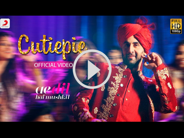 Ae Dil Hai Mushkil's New Song 'Cutiepie' Is Fun & Young!