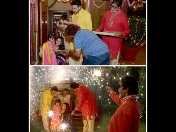 Adorable! Aishwarya's Cutie Aaradhya Bachchan Loves Celebrating Diwali & The Reason Is Amitabh!