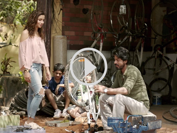Dear Zindagi Second Teaser Is Out! This Time SRK Makes Fun Of Alia Bhatt's Terrible Jokes