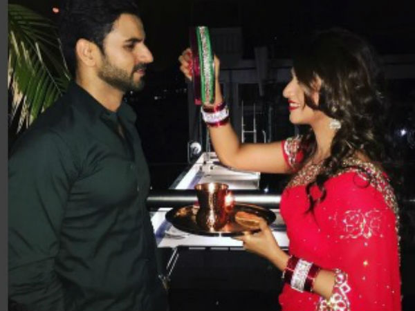 Divyanka Tripathi Pens Lovely Poem For Moon; Inscribes Vivek's Name In Her Bangles! (PICS)