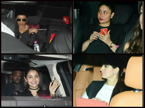 YAY! Gauri Khan, Kareena Kapoor & Other Stars Catch The First Screening Of Ae Dil Hai Mushkil [Pics]