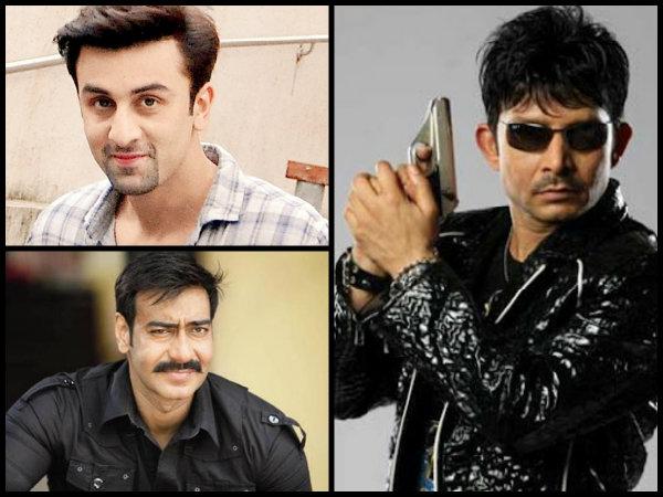 OMG! Kamaal R Khan Supports Ranbir Kapoor's Ae Dil Hai Mushkil  & Grills Ajay Devgn's Shivaay!