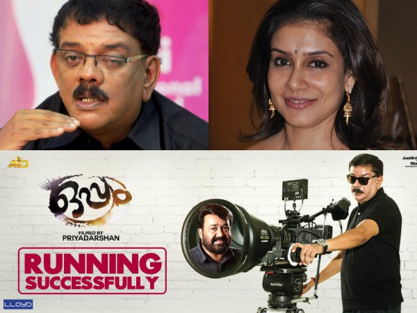 'Oppam' Is My Reply To Lissy, Says Priyadarshan
