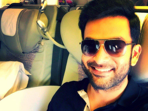 Prithviraj Joins The Sets Of My Story