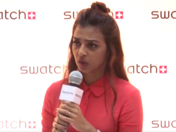 Watch! Radhika Apte Shuts Up The Reporter When Asked About ...