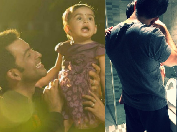 See How Prithviraj Enjoys Fatherhood!