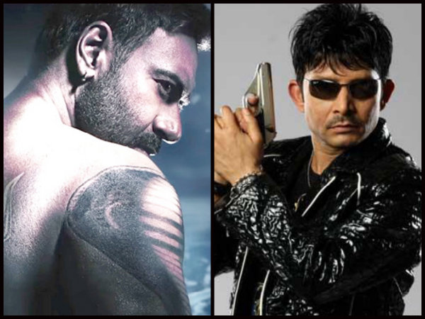 Shivaay First Review By Kamaal R Khan Is Out; Ajay Devgn Might Break A Chair On KRK's Head!
