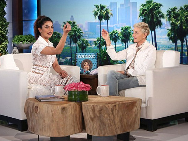 So Much Fun! Priyanka Chopra Gulps Down A Shot Of Tequila With Ellen DeGeneres