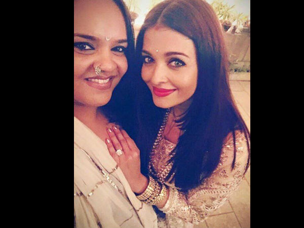 Aishwarya With Shanoo Sharma