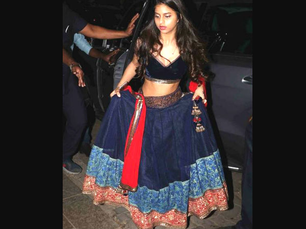 Suhana's Entry At The Bachchans' Bash