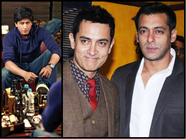Does SRK Talks About Stardom With Salman & Aamir?