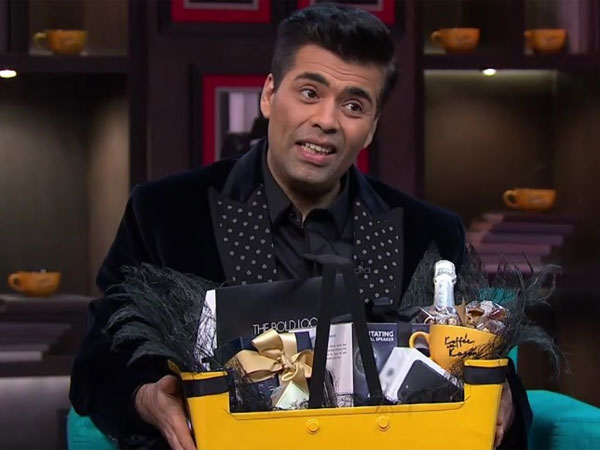 This Is What The Celebs Actually Fought For, Find Out Whats In The COFFEE HAMPER on Koffee With Karan. 8