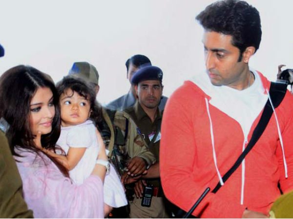 The Way Aaradhya Is Looking At Abhishek