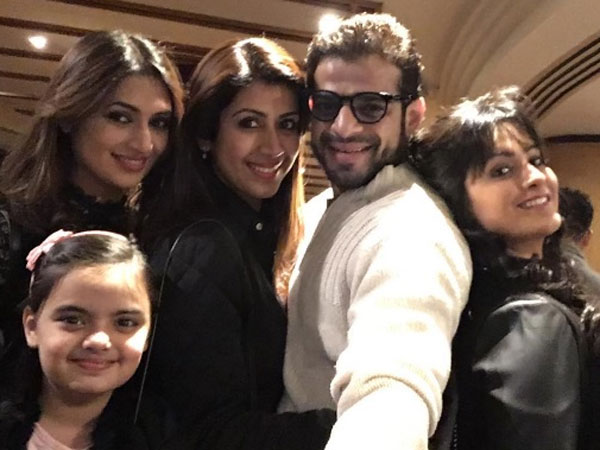 Karan With His Reel Wives & Real Wife!