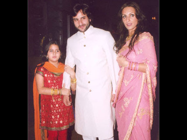 Sara With Saif And Rosa