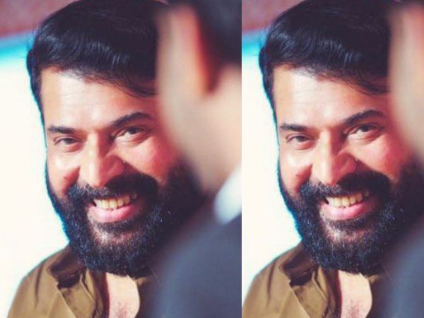 Mammootty's New Look