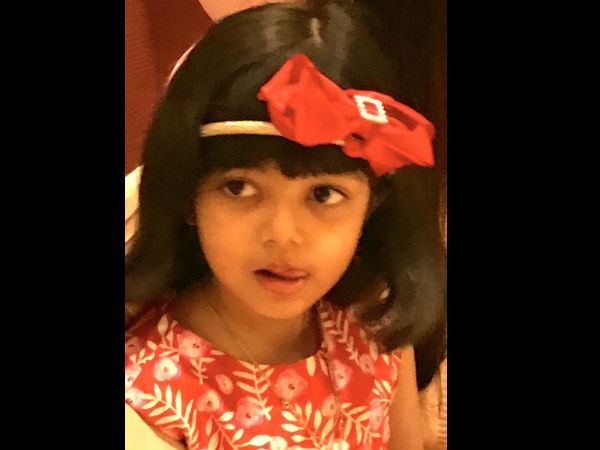 Yet Another Picture Of Aaradhya From Her B'day Bash