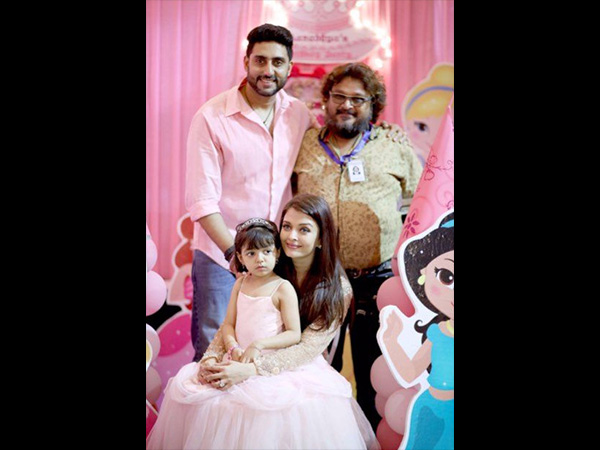 In Picture: Aaradhya's Last Year B'day Picture