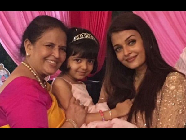 In Picture: Aaradhya's With Her Mommy & Nani