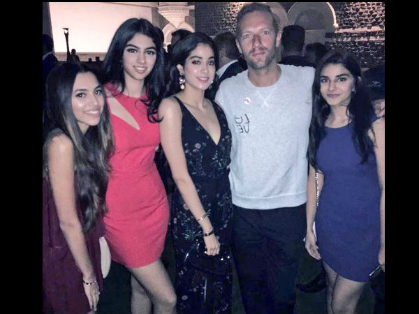 Girl Squad With Chris Martin