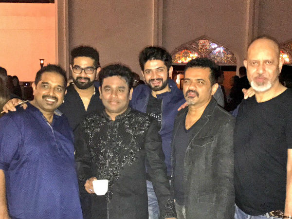 A R Rahman With His Industry Friends