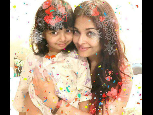 Aishwarya's Latest Pic With Aaradhya