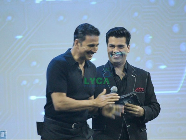 In Picture: Akshay With KJo