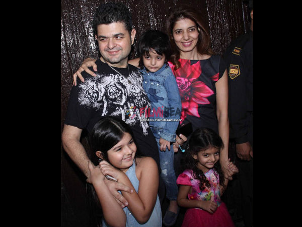 Dabboo Ratnani With His Family