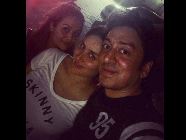 Kareena With Amrita Arora