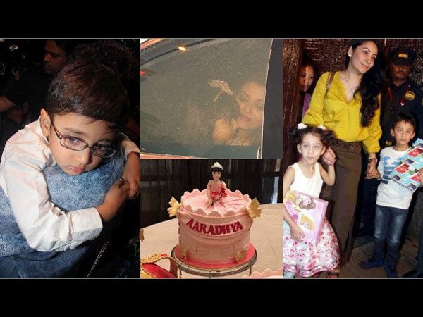 Aaradhya Wore Manish Malhotra's Outfit On Her Birthday