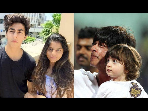 SEE PICS: AbRam ditches dad Shah Rukh to walk hand-in-hand with Alia