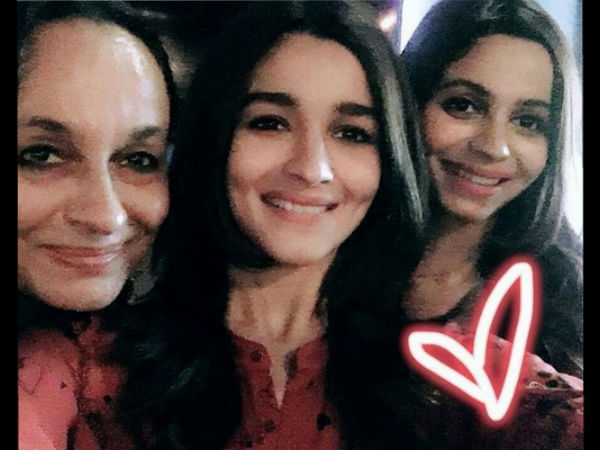 Alia & Shaheen With Their Mom