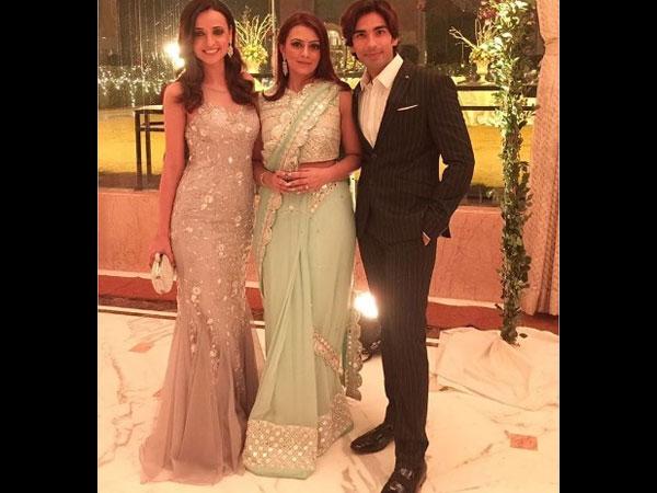 WEDDING PICTURES Sanaya Irani Mohit Sehgal Attend Roshni