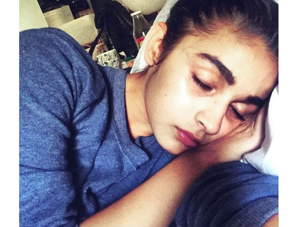Alia Bhatt Sleeping In Bed