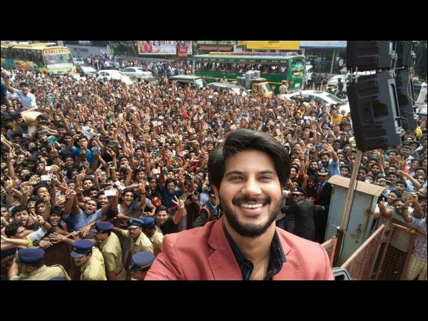 Take A Look! Calicut's Craze For Dulquer Salmaan!