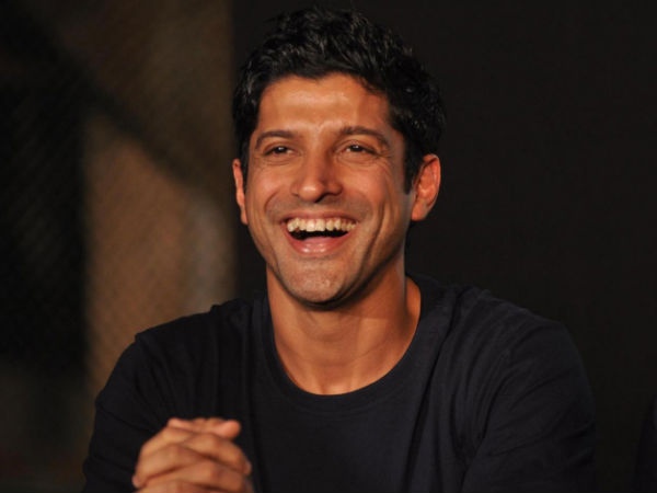 Farhan Akhtar Laughing