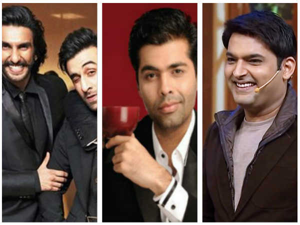 Koffee With Karan 5: After Ranveer Singh & Ranbir Kapoor, Kapil Sharma To Appear On The Chat Show