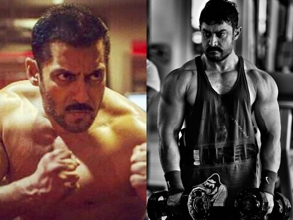 Salman Khan Aamir Khan Dangal Sultan Work Out