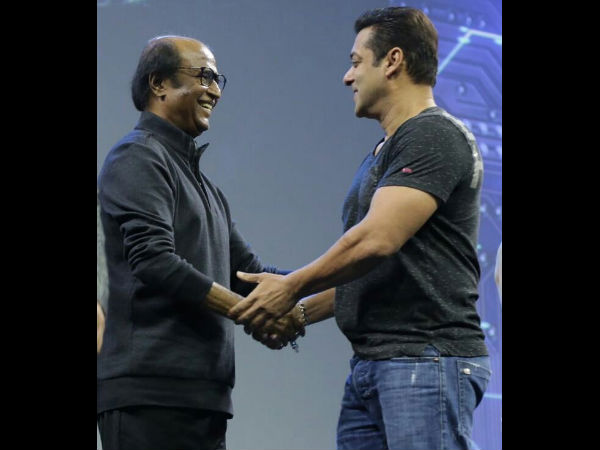 Superstar Rajinikanth Salman Khan Robo 2.0 First Look Launch Event