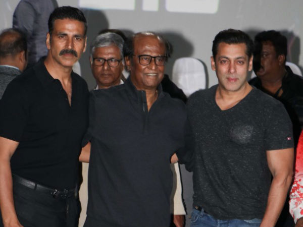Superstar Rajinikanth Akshay Kumar Salman Khan Robo 2.0 First Look Launch Event